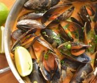 Receta: Mejillones al curry