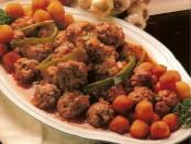 Albóndigas argentinas con salsa de almendras