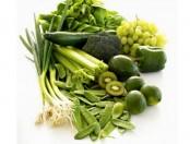 Alimentos verdes que son saludables