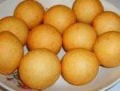 Receta de los buñuelos dulces de arroz