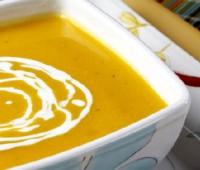Sopa crema de zapallo casera