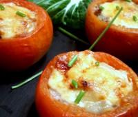 Recetas fáciles: tomates rellenos de muzzarella