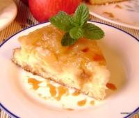 Receta: Torta de manzana invertida