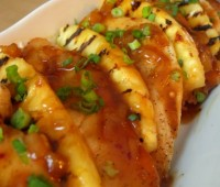 Receta de pollo al ananá