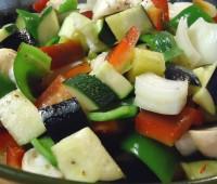 Divertido y colorido Salteado de verduras