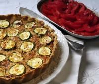 Receta: Tarta de cuscus y zucchinis