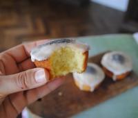 Receta de budincitos de limón escarchados