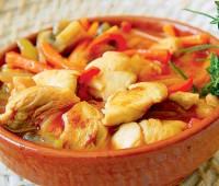 Deliciosa Cazuela de pollo y verduras