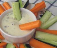 Receta: Salsa de yogurt y queso para aperitivos