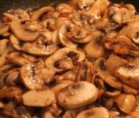 Sopa crema de champignones