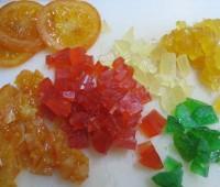 Receta: Turrón de frutas abrillantadas