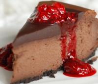 Receta de cheescake de chocolate apto para diabeticos