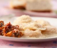 Receta de Maru Botana sorrentinos de jamón y queso