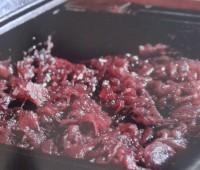 Mermelada de cebollas al tinto