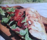Sándwiches de Pan tostado con panceta crocante