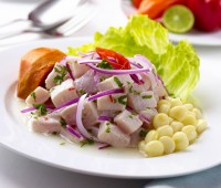 Receta: Simple Ceviche peruano
