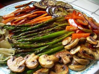 Receta vegetariana verduras al horno cocinachic - Verduras rellenas al horno ...