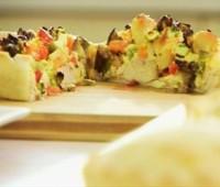 Receta: Tarta de verduras grilladas