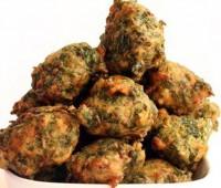 Receta de Buñuelos de Espinaca