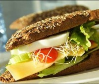 Ideas de Sandwich saludables