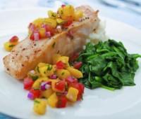 Delicioso Bacalao con pimientos morrones ideal para disfrutar en estas Pascuas