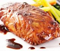 Salmón con salsa de barbacoa: receta para pascuas