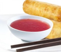 Salsa agridulce oriental, como en los restaurantes