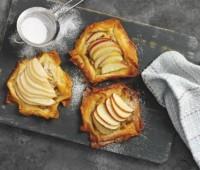 Tartas fáciles de manzana y pera
