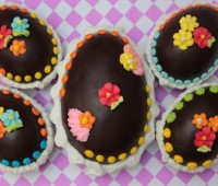 Receta de huevo de chocolate para Pascuas