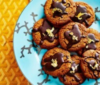 Galletas de Jengibre con Chocolate