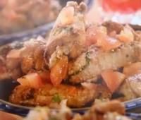Recetas: Alitas pollo con aliño de tomate