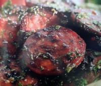 Recetas: chorizo frito a las hierbas