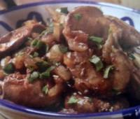 Recetas: Higadillos de pollo al jerez