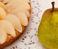 Fácil tarta de pera sin cocinar