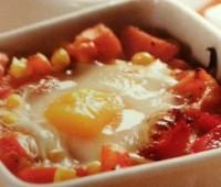 Huevos al plato para compartir con amigos