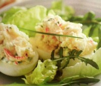 Recetas: Huevos rellenos picantes