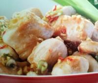 Sabrosas Pechugas de pollo con salsa de albaricoque