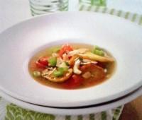 Sopa italiana de papas