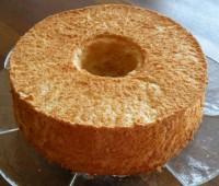 Receta para una deliciosa torta ángel.