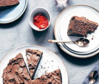 Torta vegana de chocolate
