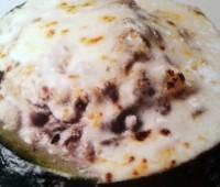 Sabroso Zapallito relleno de carne y queso