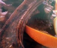 Originales Chuletas de cordero con cítricos