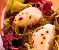 Recetas: Ensalada con queso de cabra gratinado