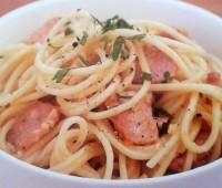 Facilísimos Espagueti a la carbonara