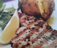 Recetas: Filetes de atún a la pimienta