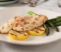 Filetes de pescado con aliño de limón