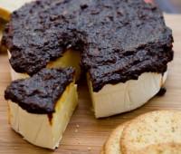 Queso Brie al caramelo para compartir con amigos