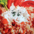 Arroz integral con tomate