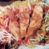 Recetas: Ensalada tibia de salmón rosado