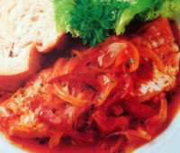 Recetas: Filet de merluza con azafrán